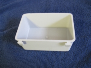 GH#1 NEW HORIZONTAL GRAY 1 PINT CAGE CUP FOR SMALLER WIRE!