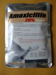 F-2-3 Amoxicillin 20% Water Soluble Powder 100 grams NEW!