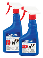 H-2-11 Adams Flea and Tick Mist Plus (32 oz.) NEW FORMULA !