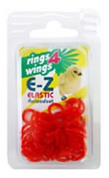 D-3-5 E-Z Elastic Rings Reload Kit Size 4.5mm - 50 rings NEW!